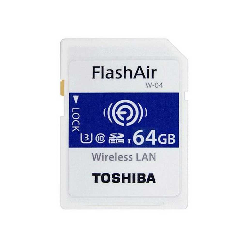 Toshiba SDHC C10 U3 90Mb/s Flash Air Wifi
